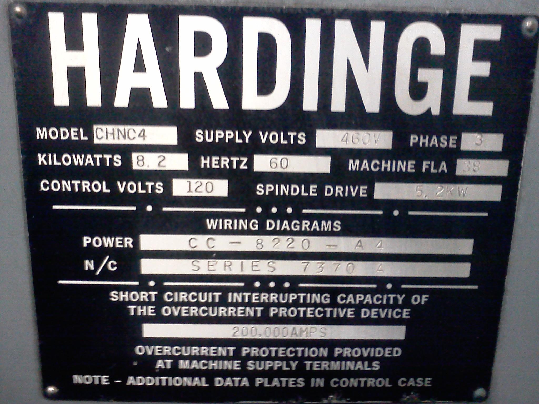 Hardinge Lathe Retrofit Temple Systems Inc Motor Wiring Diagram Parts
